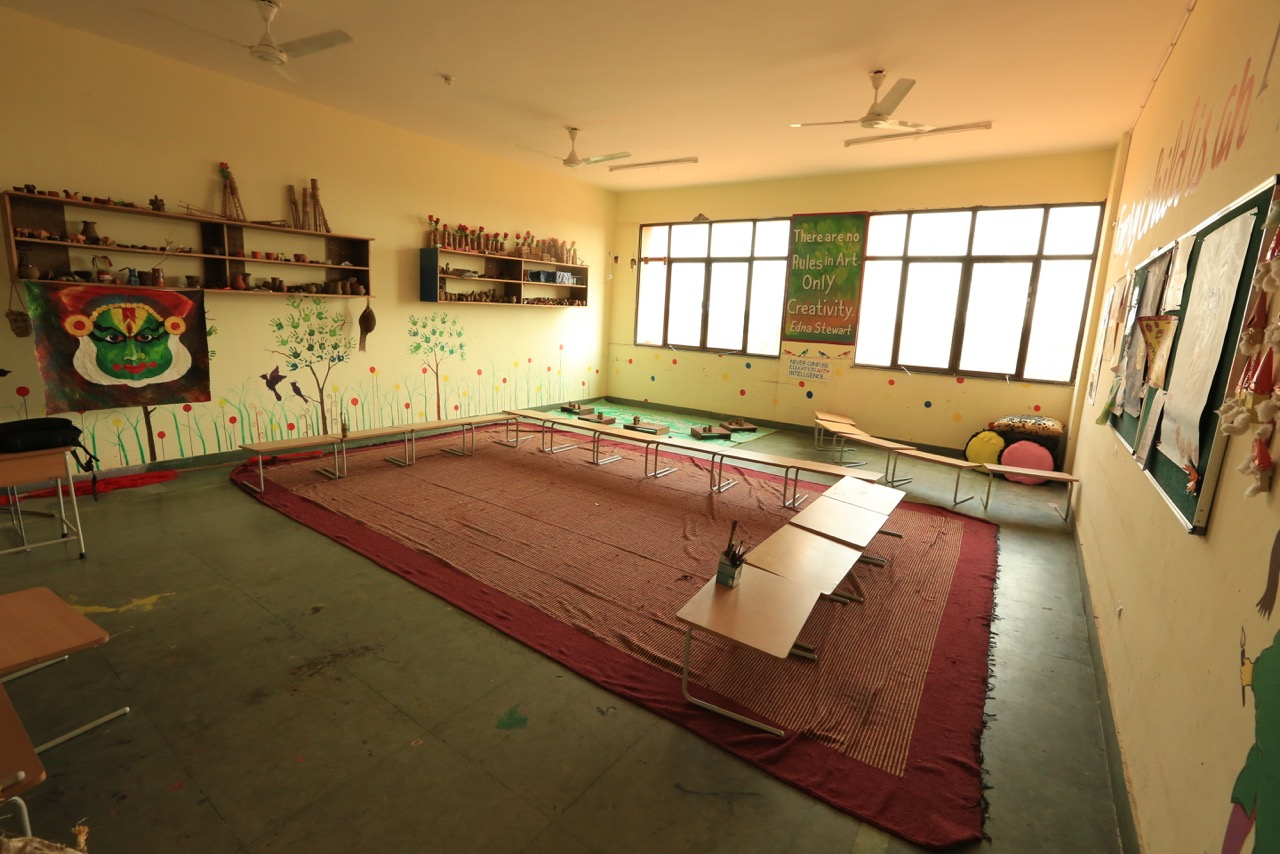 Arts Room || The Aarambh School