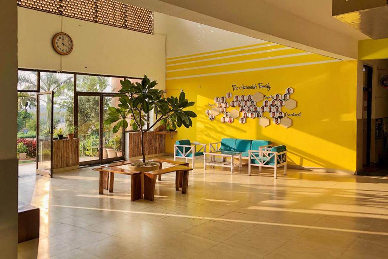 Foyer Area || The Aarambh School